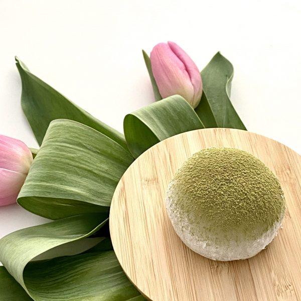 matcha tulipe proche
